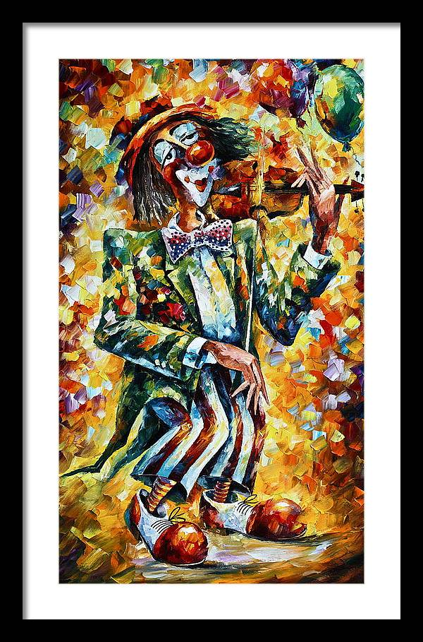 Clown by Leonid Afremov