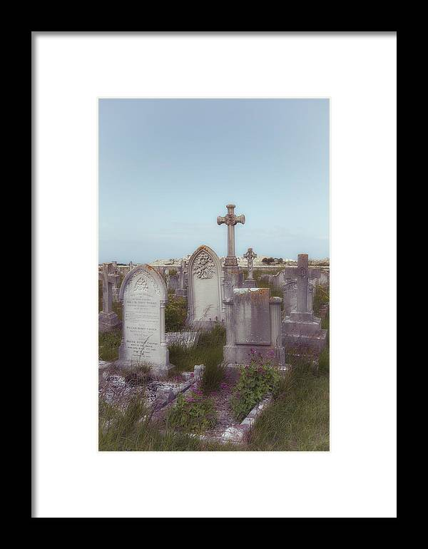 Grave Framed Print featuring the photograph Graveyard by Joana Kruse
