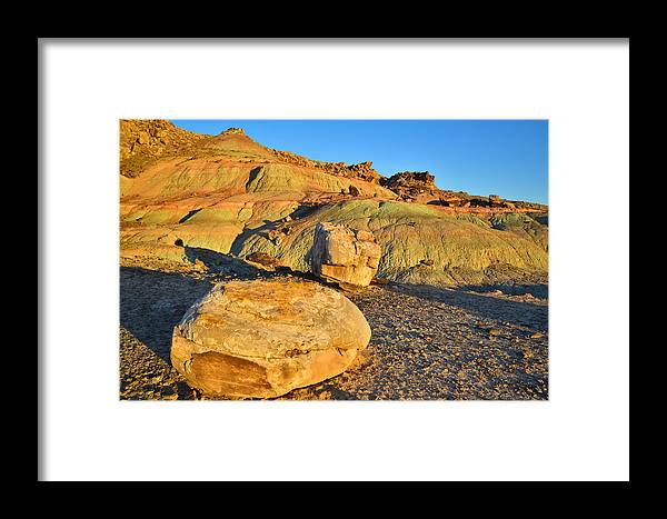 Moab Framed Print featuring the photograph Highway 191 Dunes by Ray Mathis