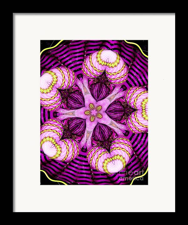 Abstract Framed Print featuring the photograph Kaleidoscope Of Blown Glass by Amy Cicconi