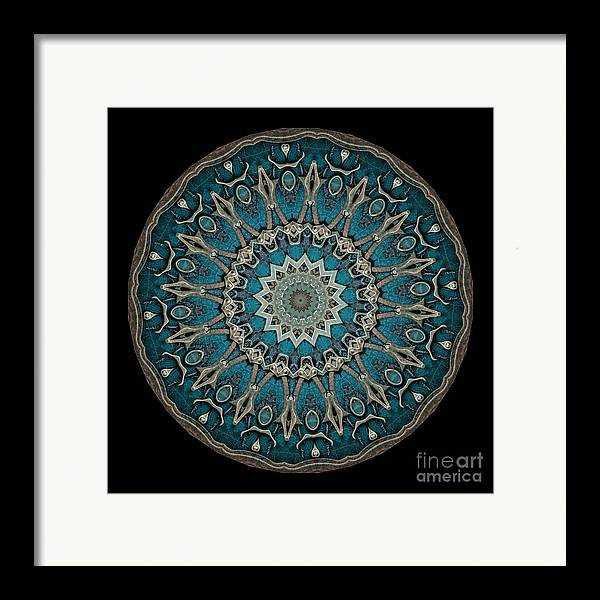 Fantasy Framed Print featuring the photograph Kaleidoscope Steampunk Series by Amy Cicconi