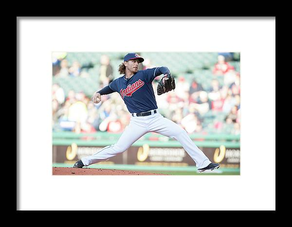 Second Inning Framed Print featuring the photograph Minnesota Twins V Cleveland Indians 3 by Jason Miller