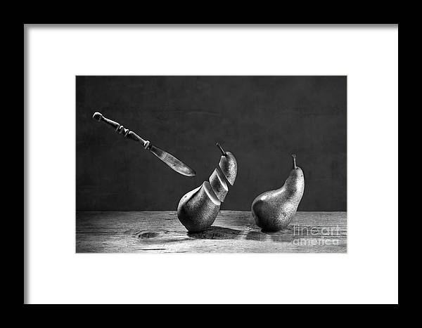 Pear Framed Print featuring the photograph No Escape by Nailia Schwarz