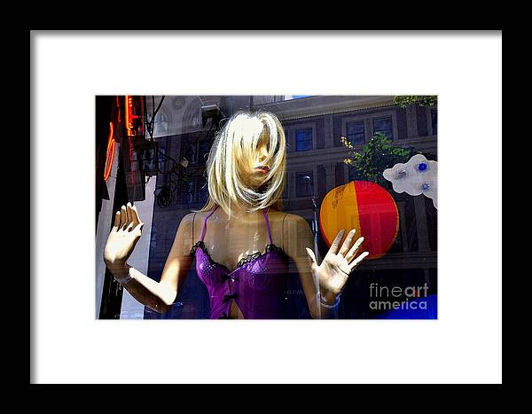 Abstract Framed Print featuring the photograph No Way Out by Lauren Leigh Hunter Fine Art Photography