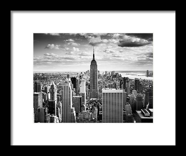Nyc Framed Print featuring the photograph NYC Downtown by Nina Papiorek