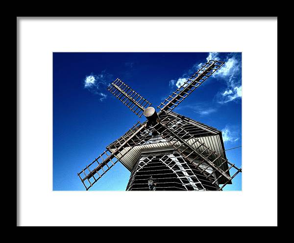 Windmill Framed Print featuring the photograph Photography by Carlos Silva