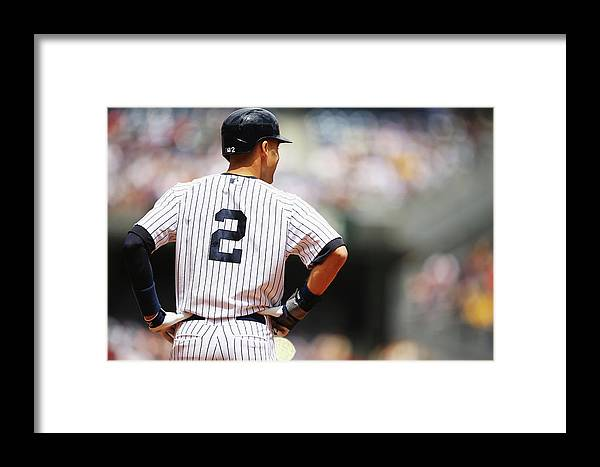 People Framed Print featuring the photograph Pittsburgh Pirates V New York Yankees - 3 by Al Bello