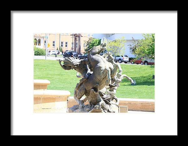 Kansas City Photos Framed Print featuring the photograph Plaza Kc by Tinjoe Mbugus