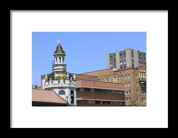Kansas City Photos Framed Print featuring the photograph Plaza by Tinjoe Mbugus
