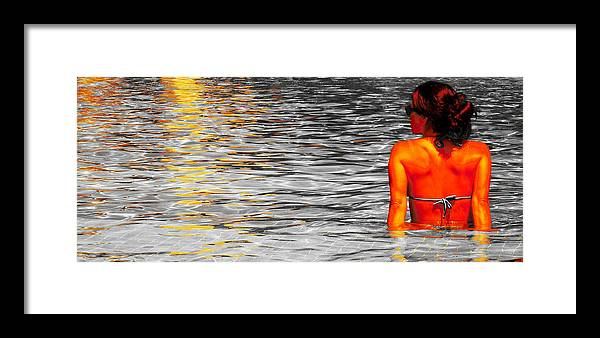 Pool Framed Print featuring the photograph Pool by J Anthony