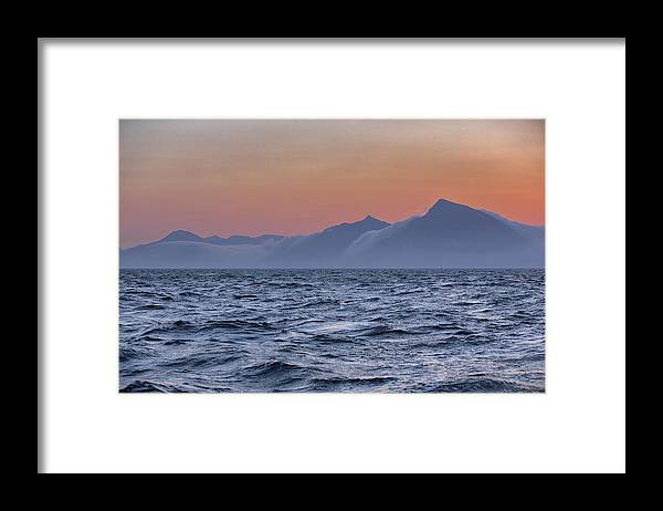 Scenics Framed Print featuring the photograph Ragged Coastline Of Faroe Islands by Sindre Ellingsen