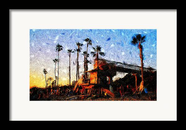 Surf Life Framed Print featuring the photograph Surf Life by Ron Regalado