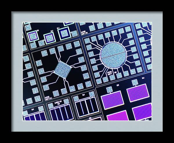 Surface Of Microchip by Alfred Pasieka