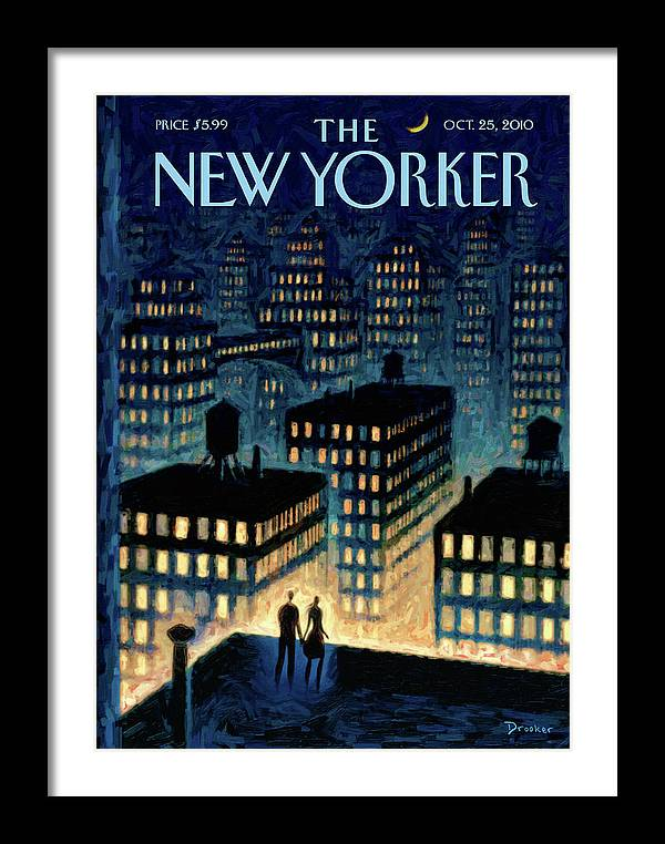 New Yorker October 25th, 2010 by Eric Drooker