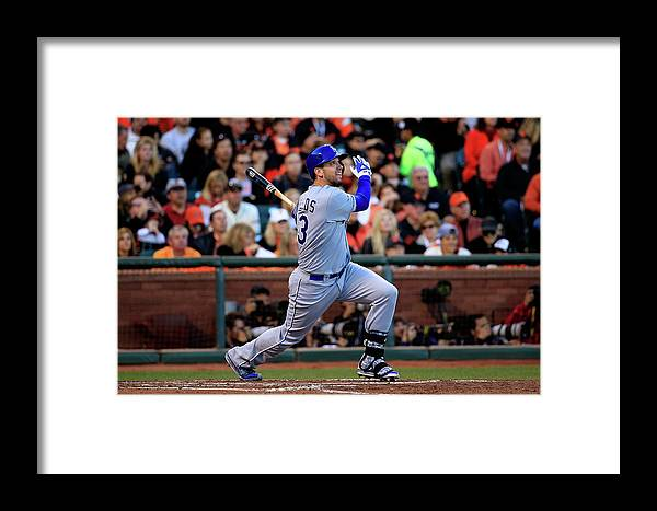 San Francisco Framed Print featuring the photograph World Series - Kansas City Royals V San 3 by Rob Carr