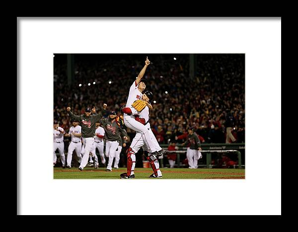 Playoffs Framed Print featuring the photograph World Series - St Louis Cardinals V 3 by Rob Carr