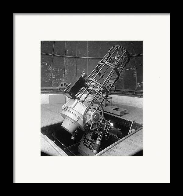 30-inch Telescope Framed Print featuring the photograph 30-inch Telescope, Helwan, Egypt by Science Photo Library