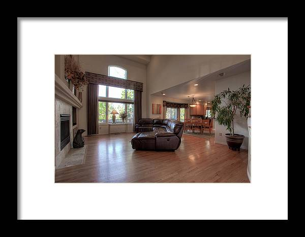 Framed Print featuring the photograph 3328 Diablo Way by Rick Machle