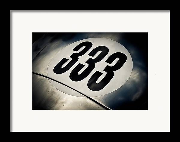 Numer Three Framed Print featuring the photograph 333 by Phil 'motography' Clark