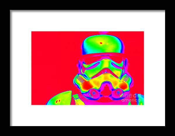 Stormtrooper Framed Print featuring the photograph 34 by Micah May