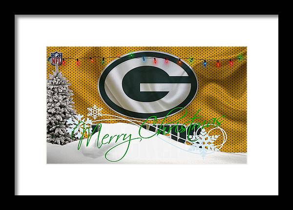 Packers Framed Print featuring the photograph Green Bay Packers by Joe Hamilton