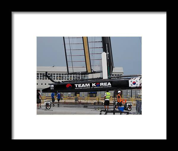 Venice Framed Print featuring the photograph Acws In Venice by Lorenzo Tonello