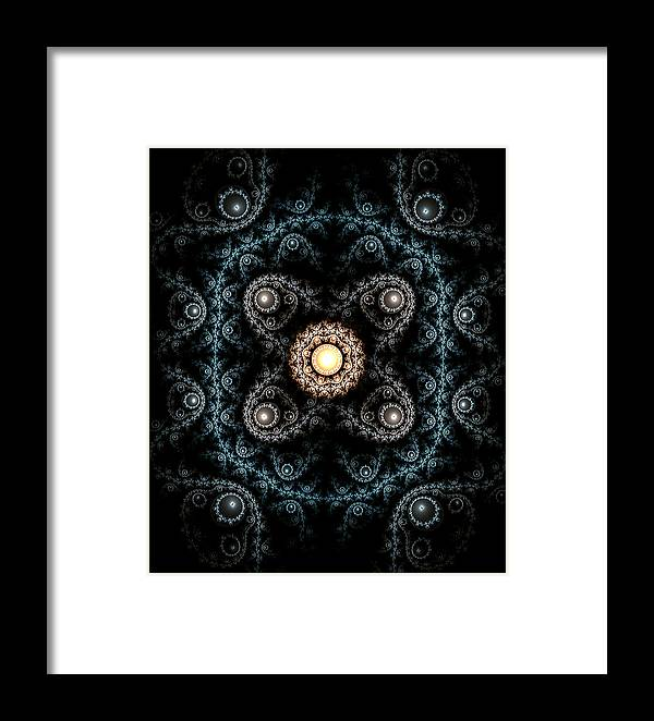 Abstract Framed Print featuring the photograph 3d Abstract Carpet by Radoslav Nedelchev