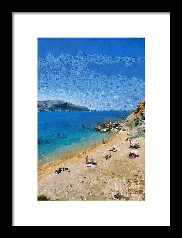 Beach in Legrena by George Atsametakis