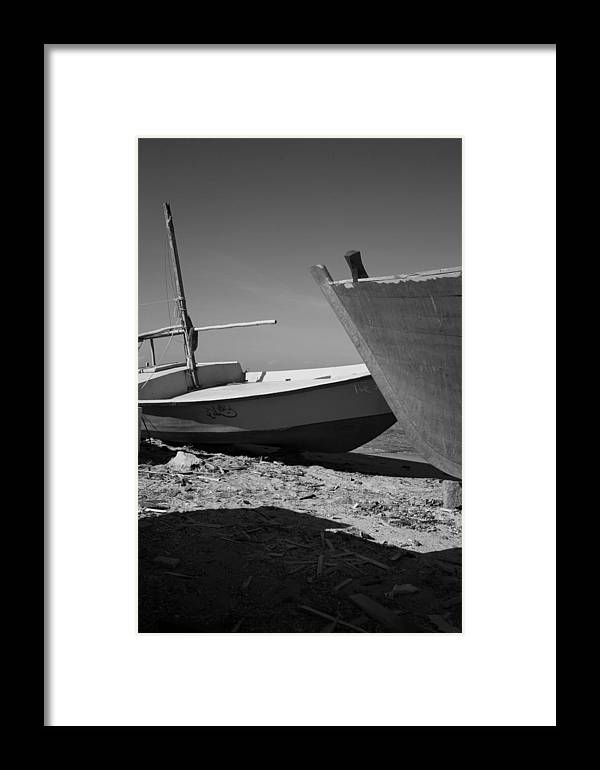 Jezcself Framed Print featuring the photograph 4 Boat by Jez C Self