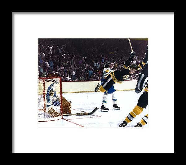 classic Framed Print featuring the photograph Bobby Orr by Retro Images Archive