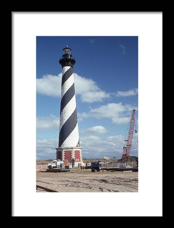 Cape Hatteras Light Framed Print featuring the photograph Cape Hatteras Light by Herbert Gatewood