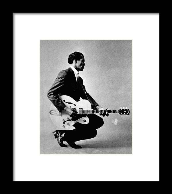 classic Framed Print featuring the photograph Chuck Berry by Retro Images Archive
