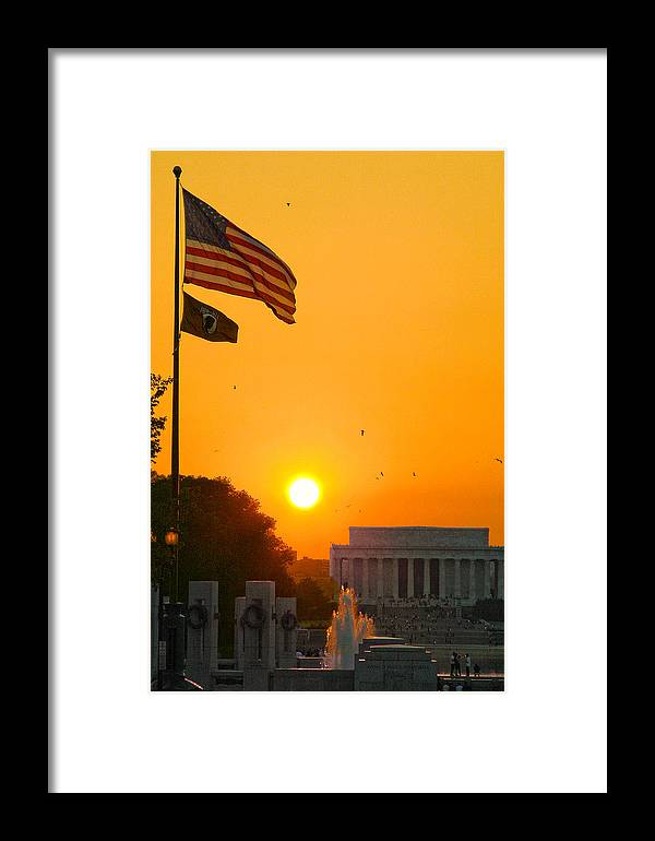 Landscape Framed Print featuring the photograph Freedom by Mitch Cat