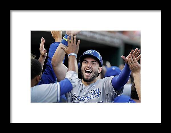 American League Baseball Framed Print featuring the photograph Kansas City Royals V Detroit Tigers 4 by Duane Burleson