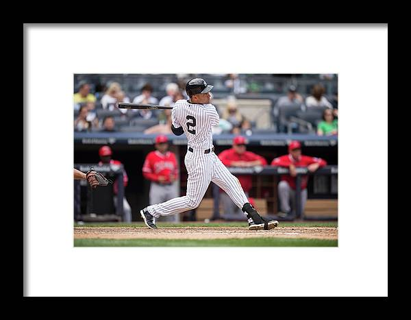 People Framed Print featuring the photograph Los Angeles Angels Of Anaheim V New 4 by Rob Tringali