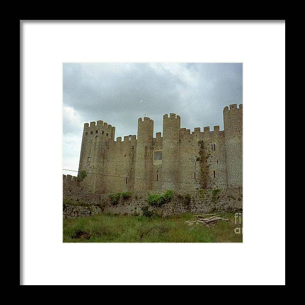 Portugal Obidos Walled City Framed Print featuring the photograph Obidos by Ted Pollard