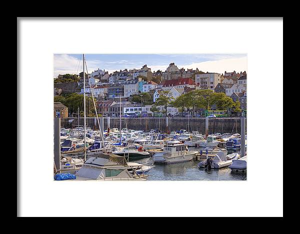 City Framed Print featuring the photograph St Peter Port - Guernsey by Joana Kruse