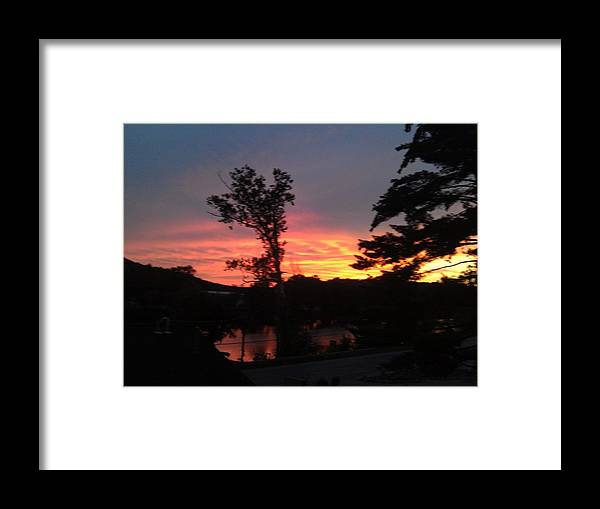 Framed Print featuring the photograph Sunsets by Bobby Arick