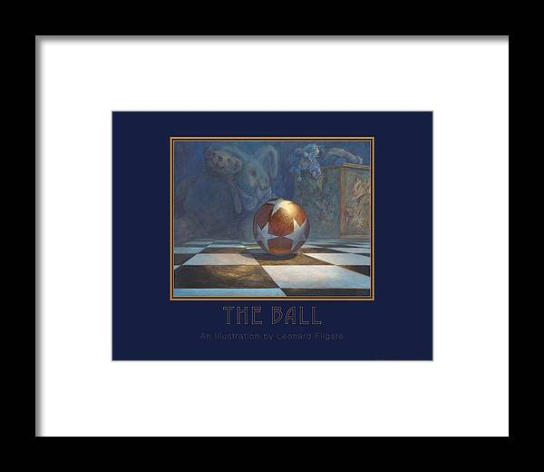 Filgate Framed Print featuring the painting The Ball by Leonard Filgate