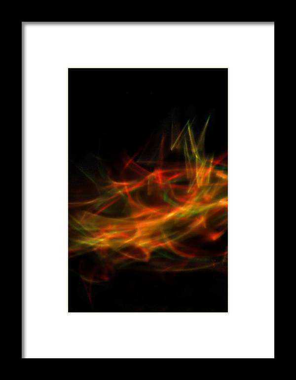 Ambience Framed Print featuring the photograph Journeys End by Cyryn Fyrcyd