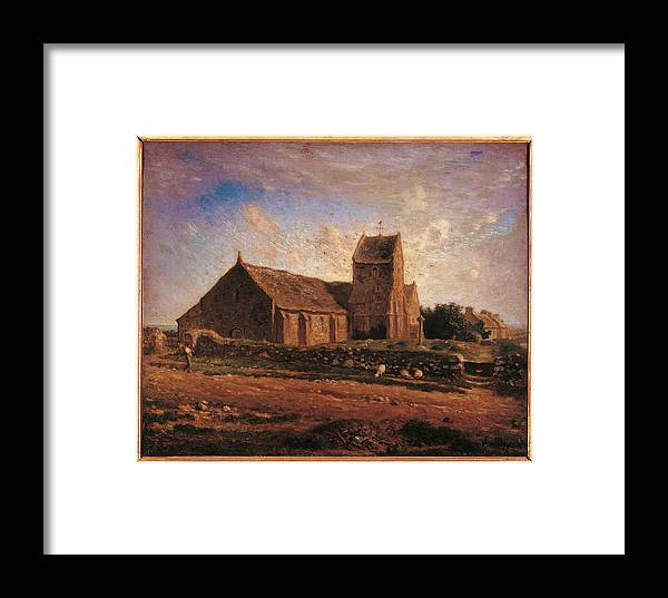 Oil Painting Framed Print featuring the photograph France, Ile De France, Paris, Muse by Everett