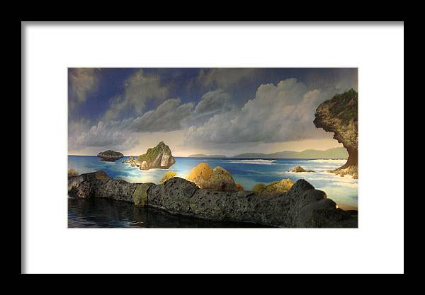 Fish Framed Print featuring the photograph Places by Tinjoe Mbugus