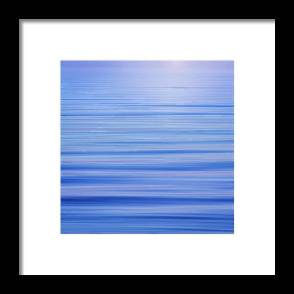 Blue Framed Print featuring the photograph Usa, Washington State, Seabeck by Jaynes Gallery