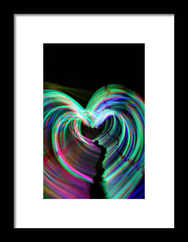 Heart Framed Print featuring the photograph Journeys End by Cyryn Fyrcyd