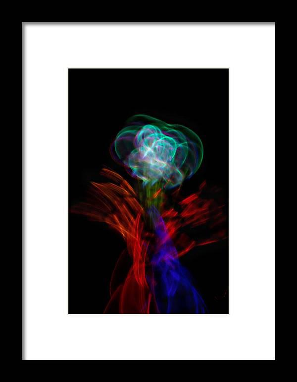 Flower Framed Print featuring the photograph Journeys End by Cyryn Fyrcyd