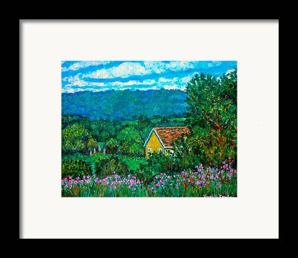 Landscape Framed Print featuring the painting 460 by Kendall Kessler