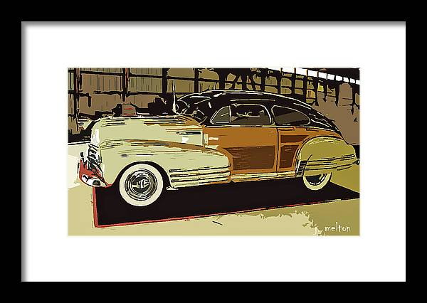 1948 Framed Print featuring the photograph '48 Chevy Cool by Jack Melton