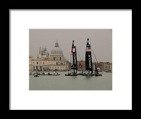 Acws Framed Print featuring the photograph Acws In Venice by Lorenzo Tonello