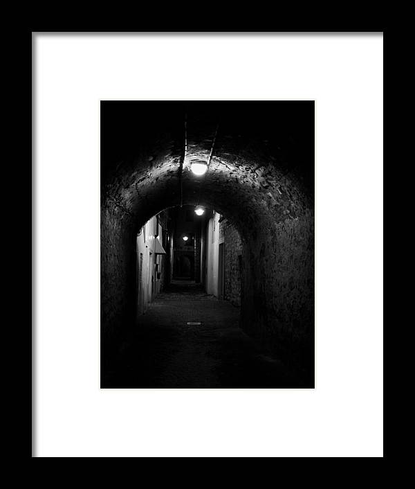 Francacorta Framed Print featuring the photograph Alley Of Melancholy. Iseo by Jouko Lehto