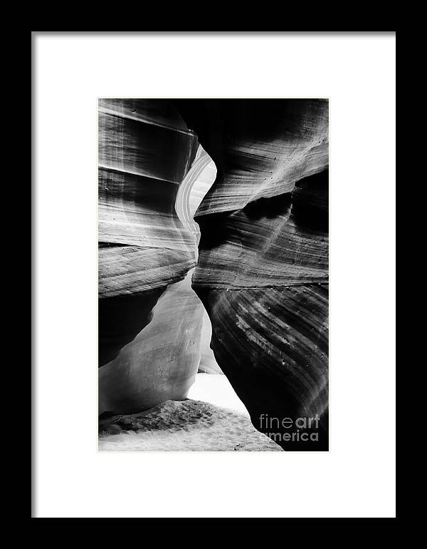 Usa Framed Print featuring the photograph Antelope Slot Canyon by Thomas R Fletcher